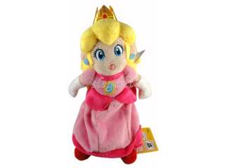Super Mario Brothers Princess Peach 8 Stuffed Toy Plush Doll