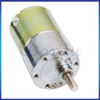 12V DC 300 RPM High Torque Gear Box Electric Car Motor