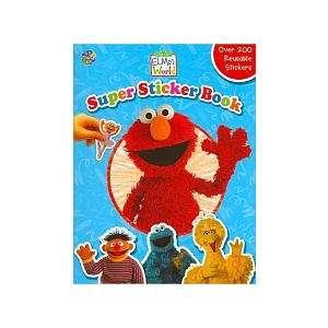 Elmos World Super Sticker Book (9782764304273) ASSORTED