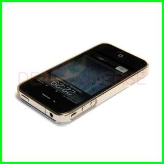 New Ultra Thin Crystal Clear Hard Case For Apple iPhone 4 4S 4G 4GS