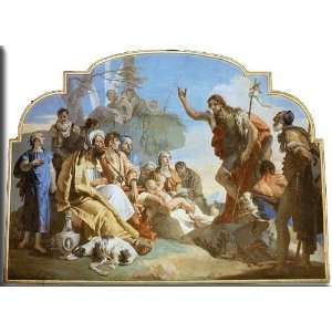 Streched Canvas Art by Tiepolo, Giovanni Battista