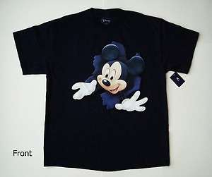 Disney Mickey Mouse Pop Out Mickey Adult Tee 1913MA