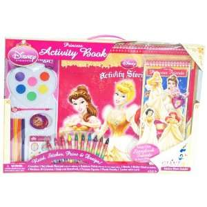 Disney Princess Giant Activity Story Book Playset Read