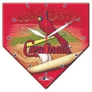 MLB St Louis Cardinals High Definition Clock