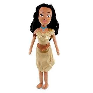 Disney Princess Plush Toy Doll 19 Rapunzel OR Pocahontas OR Jasmine O