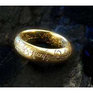 The Lord of the Rings   Yellow Gold Plated  Kitchen