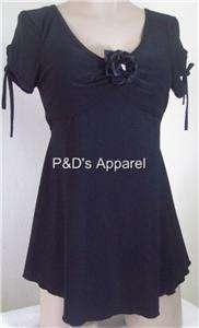 New Dating Maternity Womens Black Shirt Top Blouse S M L XL