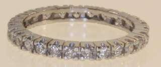 Increase Sales 17880 C175 14K WHITE GOLD ETERNITY DIAMOND WEDDING BAND