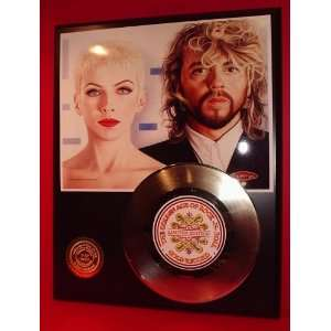 Eurythmics 24kt Gold Record LTD Edition Display ***FREE
