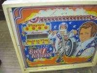 Vintage Evel Knievel Professional Home Model Pinball Machine