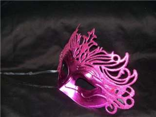 masquerade mask with glitter and ribbons mardi gras style new