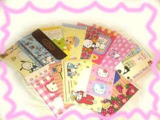 Sanrio Lot 10 Hello Kitty Melody Disney Cartoon Letter Envelopes Stat