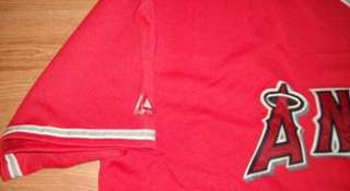 Anaheim Angels Jersey 3XL Red Home Majestic MLB
