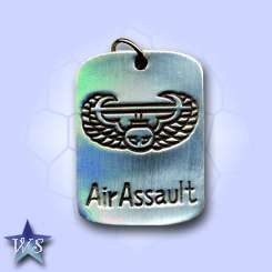 WS1199 Air Assault Extreme Silver Pewter Pendant