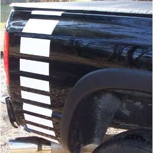 Truck Fadeout Rear Quarter Stripes Graphic Decals