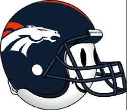 Denver Broncos NFL HELMET Antenna Topper