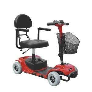Falcon 3 Wheel Portable Travel Scooter with Comfortable Padded Seat