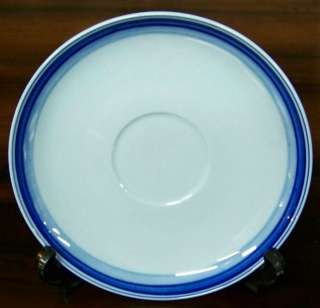 Set (4) Petrus Regout BLUE COLORS B&B Plates HOLLAND