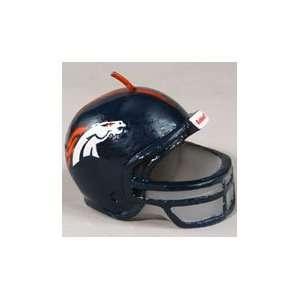 Denver Broncos Football Helmet Candles   NFL licensed