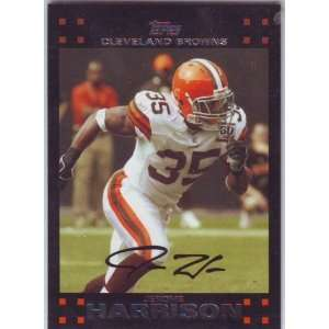 2007 Topps Football Cleveland Browns Team Set  Sports