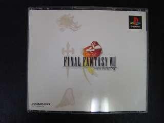 Final Fantasy 8 PlayStation JP GAME.