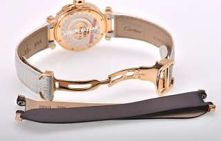 Cartier Pasha 32 mm Diamond Rose Gold Ladies