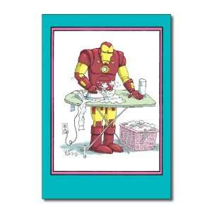 Funny Mothers Day Card Iron Man Humor Greeting Glenn McCoy