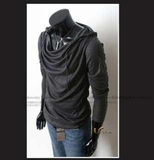 New South Korean Mens Slim Casual Round Neck TEE T shirts M L XL 5