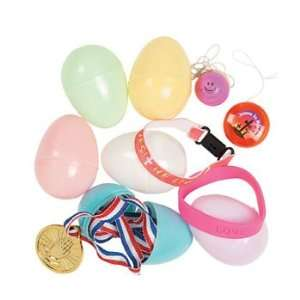 Easter Toy Filled Pastel Eggs   Party Favors & Party
