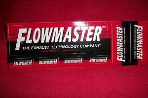 Flowmaster Exhaust Stickers Decals NHRA Hot Rod Racing