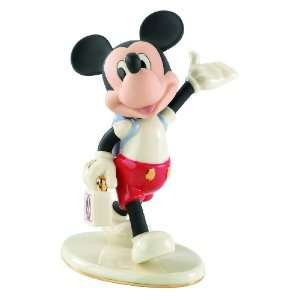 Disney Mouseketeer Days Mickey Mouse Figurine by Lenox