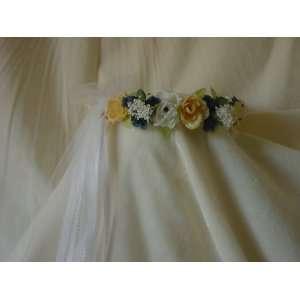 Flower Girl Wreath Bridal Headpiece Bridesmaid Dorothy
