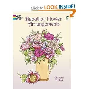 Beautiful Flower Arrangements (Dover Nature Coloring Book