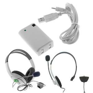 Pack + USB Charger Cable + Mono Headset with Microphone + Big Headset