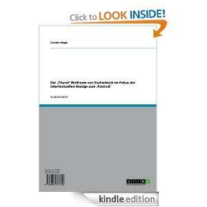 im Fokus der intertextuellen Bezüge zum Parzival (German Edition