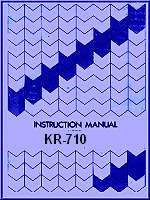 Brother Knitting Machine Instruction Manuals Books cds