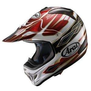 Arai VX Pro 3 Windham Helmet   Small/Red: Automotive