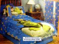 Shrek Comforter twin 5 piece set curtains sheet bed bag