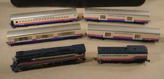 VINTAGE LIONEL HO SCALE AMERICAN FREEDOM PASSENGER TRAIN SET MUST SEE