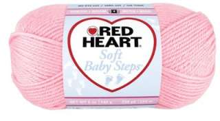 Wrap your baby in a soft cloud of love. Red Heart Soft Yarn in fresh