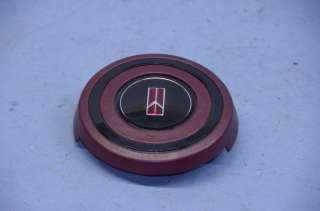 Spoke Center Horn Cap Button Emblem Pad Oldsmobile Cutlass