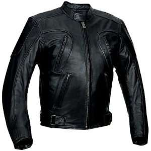 River Road Mesa Mens Classic Leather Harley Cruiser Motorcycle Jacket