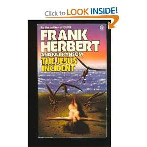 The Jesus Incident (ORBIT BOOKS) Frank Herbert, Bill Ransom