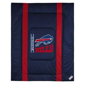 Buffalo Bills Sideline Comforter   Full/queen Bed Sports & Outdoors