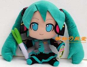 New Vocaloid Hatsune Miku Stuffed Plush doll 11 27cm