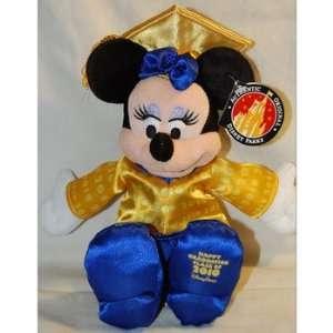 Disney 2010 Graduation Minnie Mouse Plush   7 Toys & Games