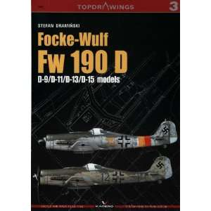 Focke Wulf Fw 190D D 9/D 11/D 13/D 15 models (Top Drawings
