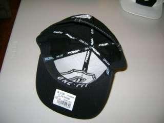 Ohio State Cap/Hat Axis O Black Flex Fit M/L Flat Bill NOWT