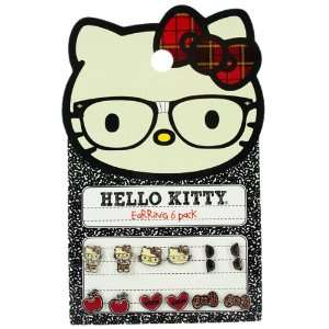 Hello Kitty Nerd Earring Pack SANE0002 Toys & Games