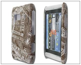 Cowboy Leather Hard Back Case Cover For Nokia N8